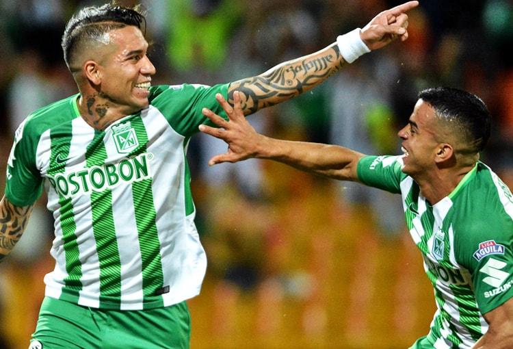 Dayro Moreno Atlético Nacional 3-2 Alianza Petrolera Liga Águila 2018-II