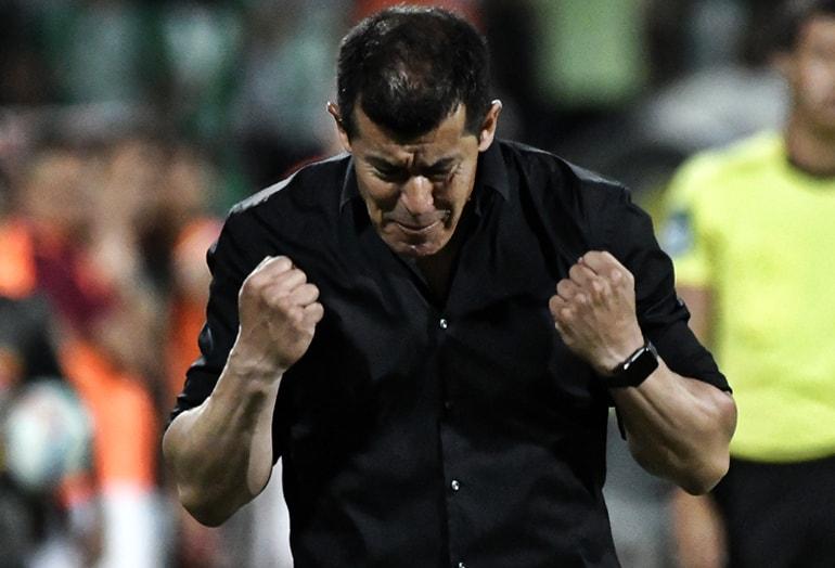 Jorge Almirón, director técnico de Atlético Nacional