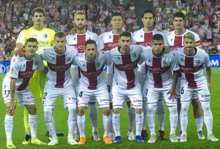 Juan Camilo Hernández SD Huesca LaLiga 2018-19