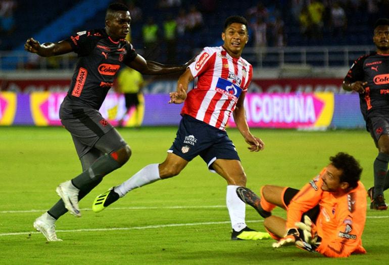 Junior 2-1 Medellín Liga Águila 2018-II