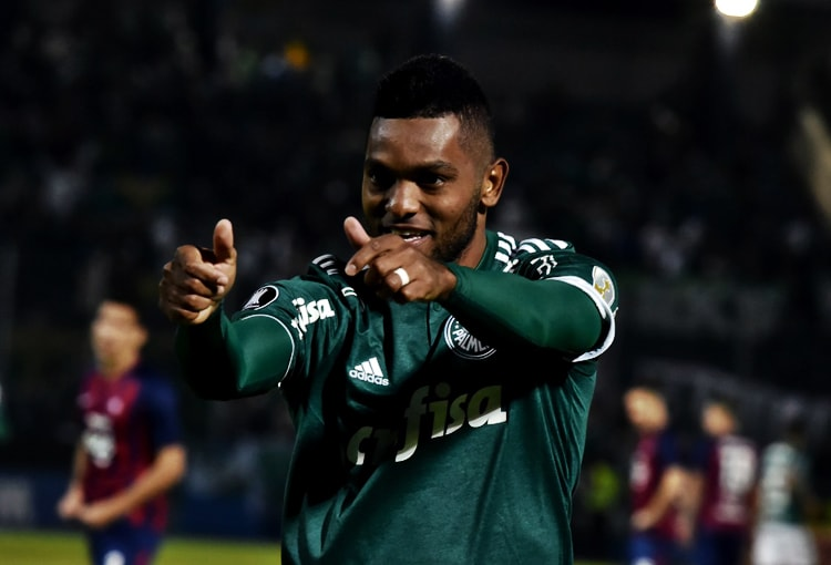 Miguel Ángel Borja Cerro Porteño 0-2 Palmeiras Copa Libertadores 2018
