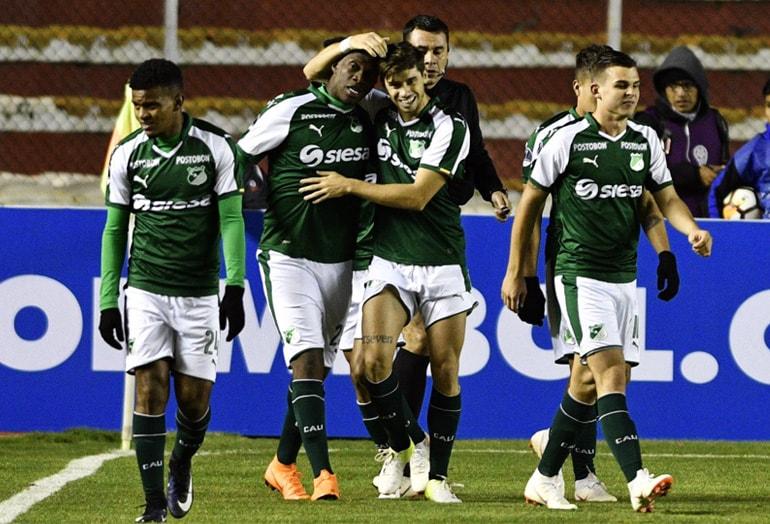 Miguel Ángel Murillo Bolívar 1-2 Cali Copa Sudamericana 2018