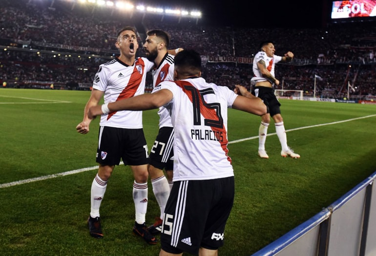 River Plate 3-0 Racing Club Copa Libertadores 2018