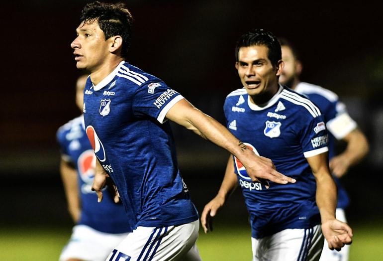 Roberto Ovelar Millonarios FC Liga Águila 2018-II