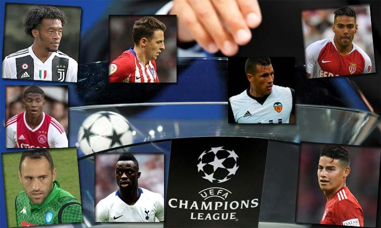 colombianos Champions league