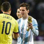 Lionel Messi Selección Colombia