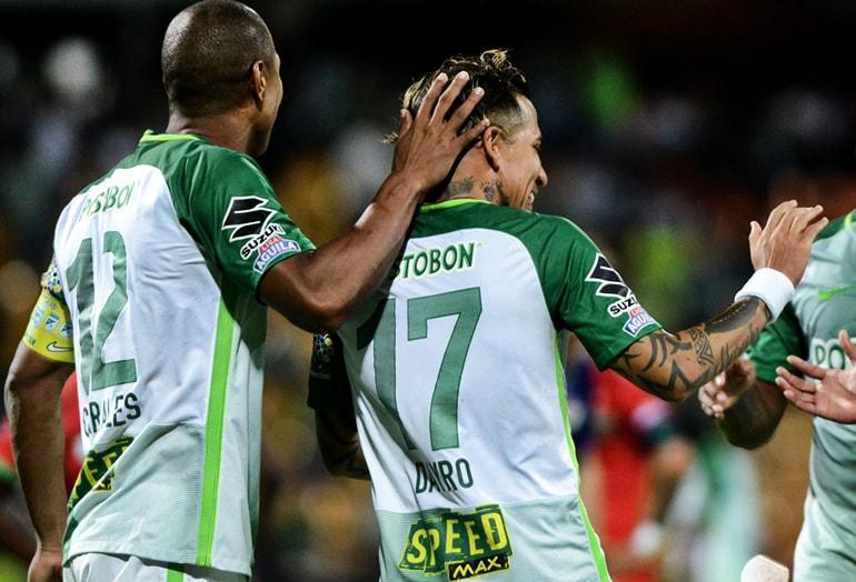 Alexis Henríquez y Dayro Moreno Atlético Nacional
