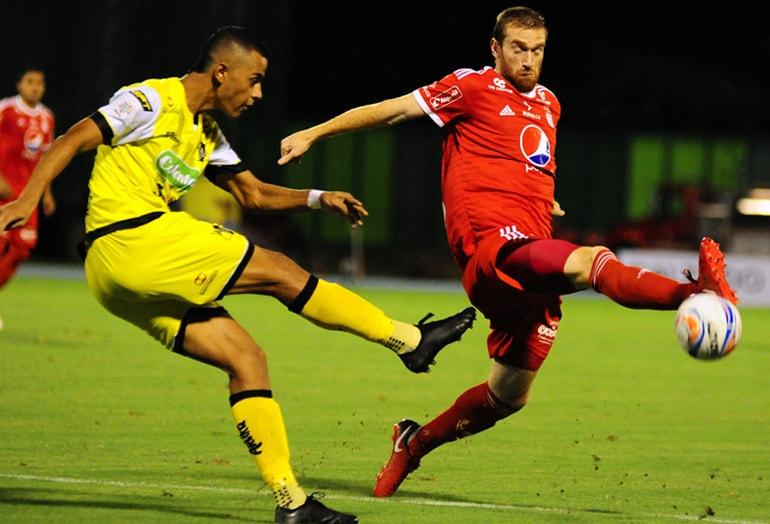 Alianza Petrolera 2-2 América Liga Águila 2018-II