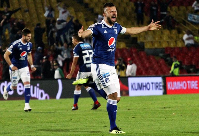 Andrés Cadavid Millonarios 1-1 Rionegro Liga Águila 2018-II
