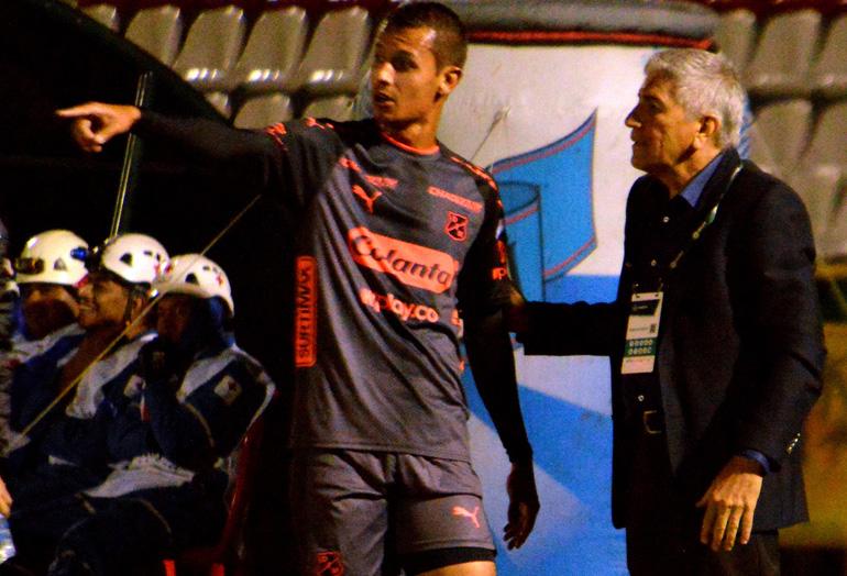 Andrés Ricaurte y Octavio Zambrano Patriotas 0-3 Medellín Liga Águila 2018-II