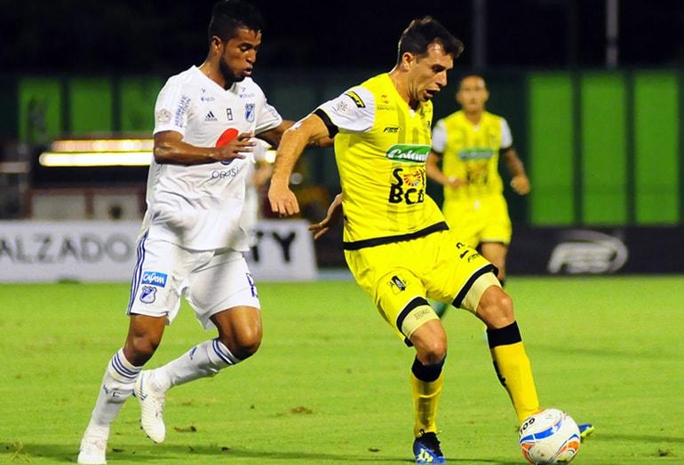 César Carrillo Alianza Petrolera 3-2 Millonarios Liga Águila 2018-II