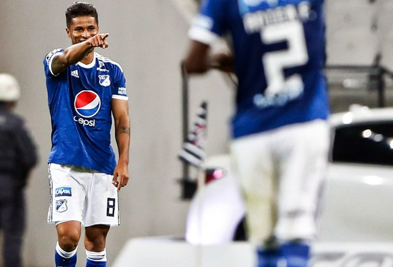 César Carrillo Santa Fe 0-0 Millonarios Copa Sudamericana 2018