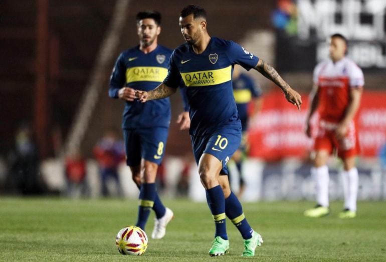 Edwin Cardona Argentinos Juniors - Boca Juniors Superliga Argentina 2018-19