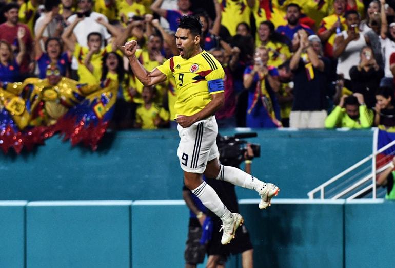 El Tigre Falcao García Colombia 2-1 Venezuela