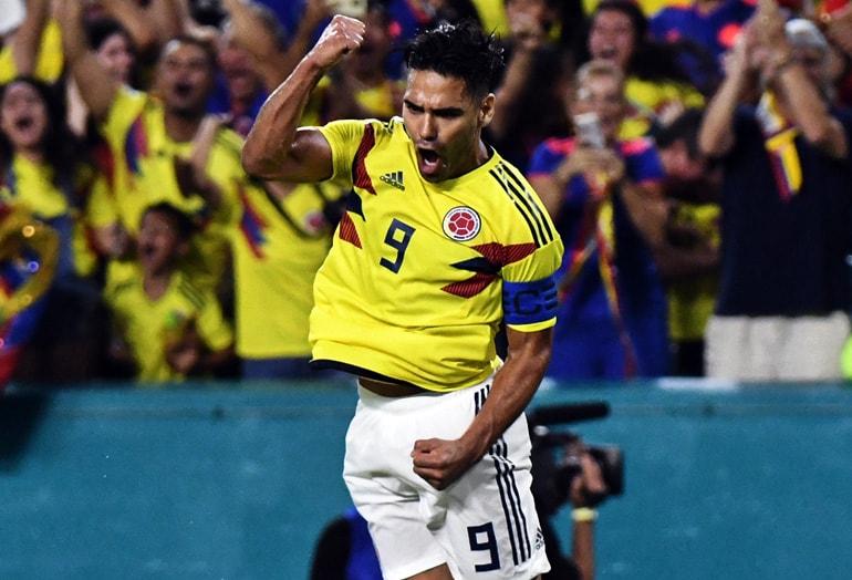 Falcao García Colombia 2-1 Venezuela