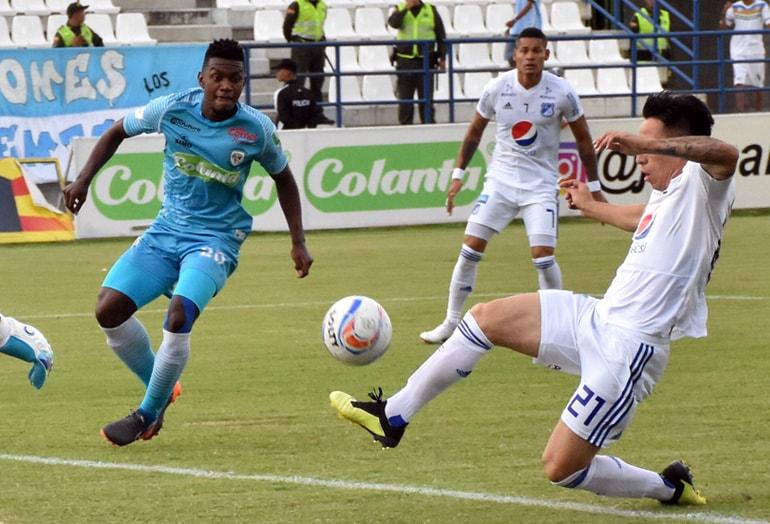 Jaguares de Córdoba - Millonarios FC Liga Águila 2018-II