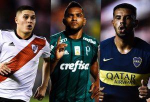 Juan Fernando Quintero, Miguel Ángel Borja y Edwin Cardona Selección Colombia