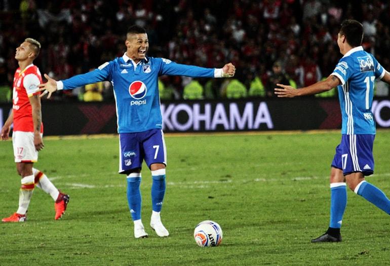 Millonarios FC – Independiente Santa Fe Liga Águila 2017-II