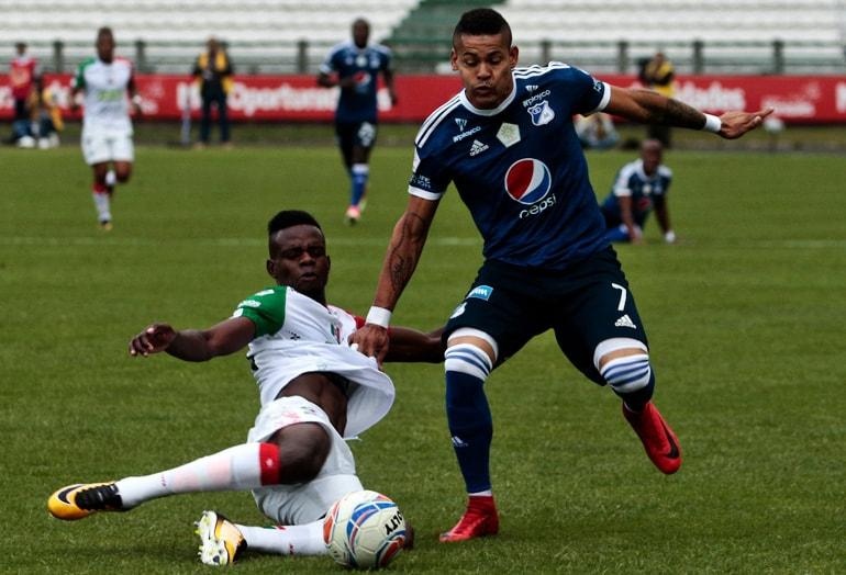 Once Caldas – Millonarios Liga Águila 2018-I