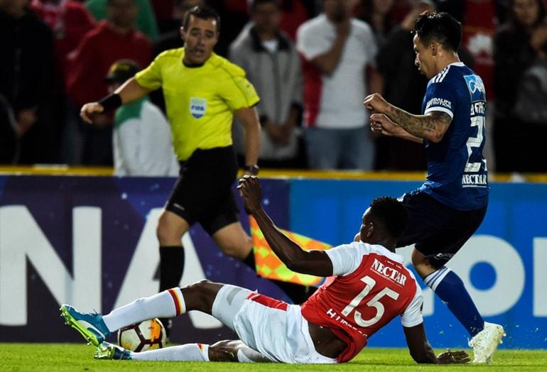 Santa Fe 0-0 Millonarios Copa Sudamericana 2018 1