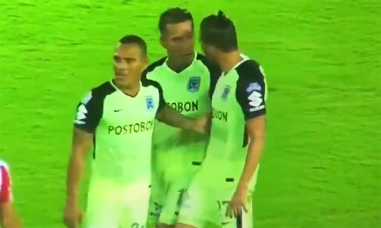Dayro Moreno Gonzalo Castellani Atlético Nacional