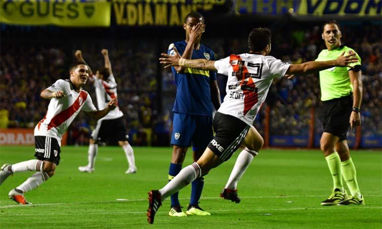 Santos Borré River Plate