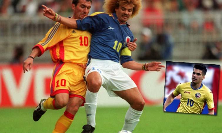 Gheorghe Hagi Selección Colombia