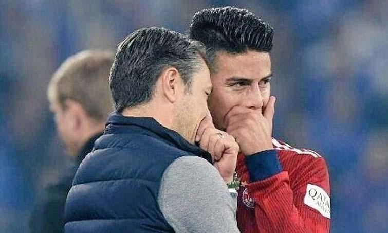¿Qué plan tiene el DT del Bayern con James Rodríguez?