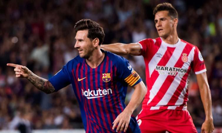 Lionel Messi Bernardo Espinosa