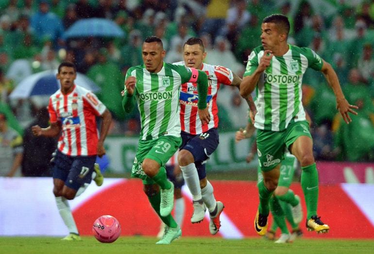 Atlético Nacional 1-0 Junior FC Liga Águila 2018-II 1