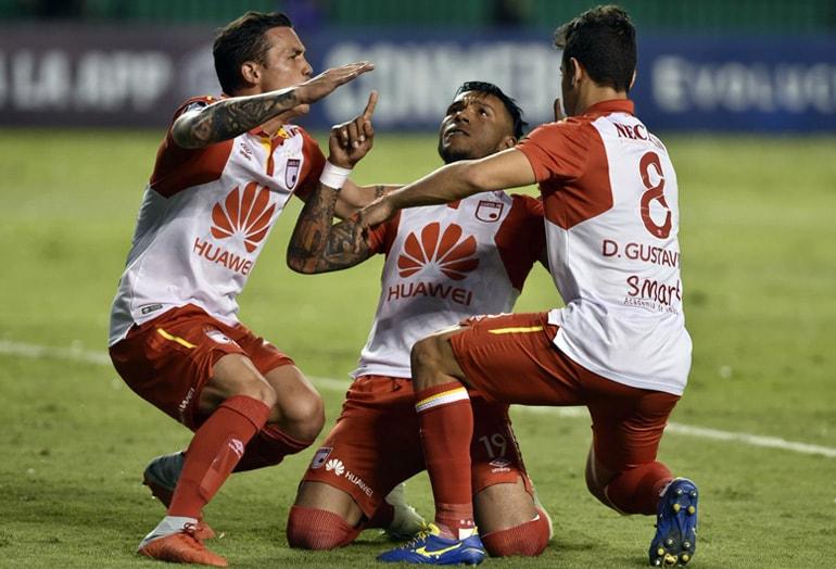 Cali 1-2 Santa Fe Copa Sudamericana 2018 1
