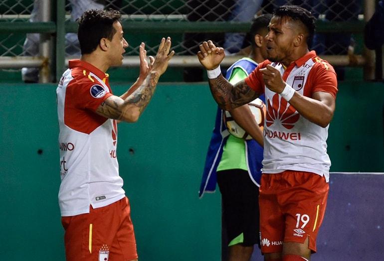 Cali 1-2 Santa Fe Copa Sudamericana 2018