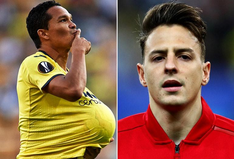 Carlos Bacca y Santiago Arias Selección Colombia