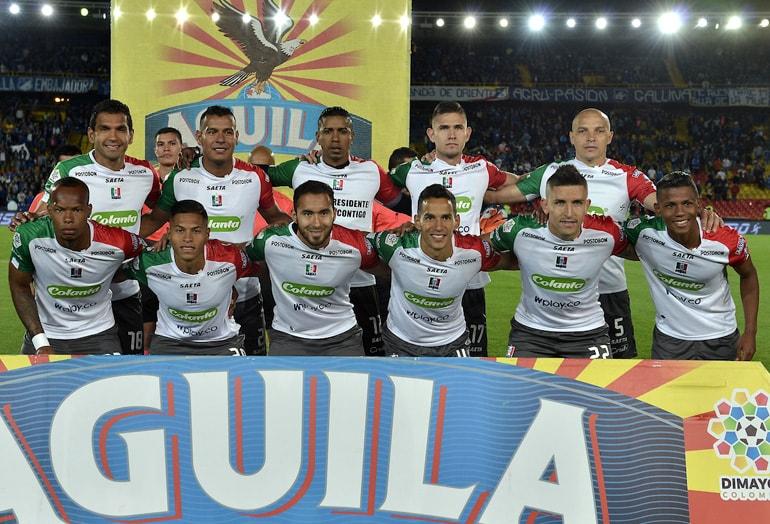 Edwin Velasco y Felipe Correa Once Caldas Liga Águila 2018-II