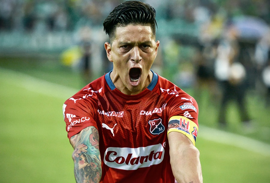 Germán Cano Medellín 2 – Nacional 1 Liga Águila 2018-II 5