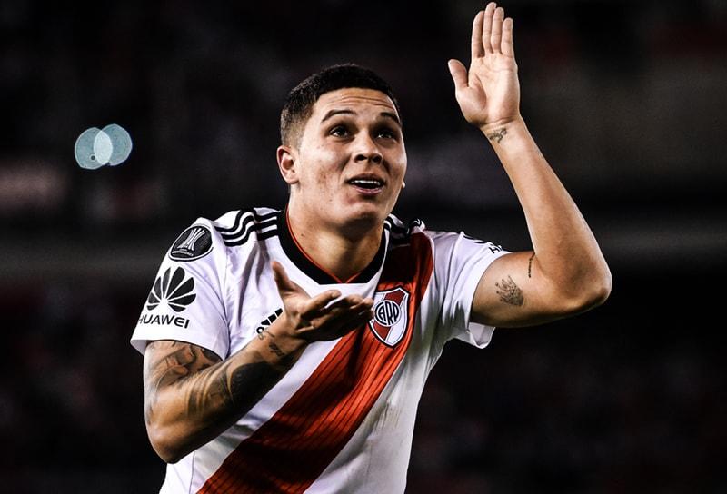 Juan Fernando Quintero River Plate 3-1 Independiente Copa Libertadores 2018