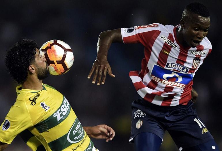 Junior 1-0 Defensa y Justicia Copa Sudamericana 2018