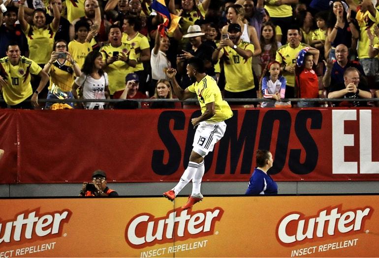 Miguel Ángel Borja Estados Unidos 2-4 Colombia