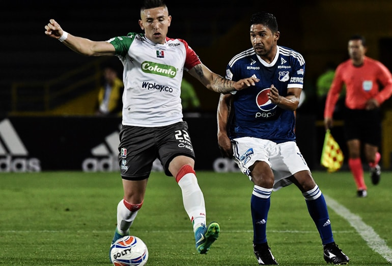 Millonarios Fútbol Club – Once Caldas Liga Águila 2018-II