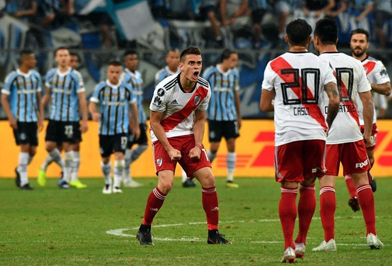 Rafael Santos Borré Grêmio 1–2 River Plate Copa Libertadores 2018