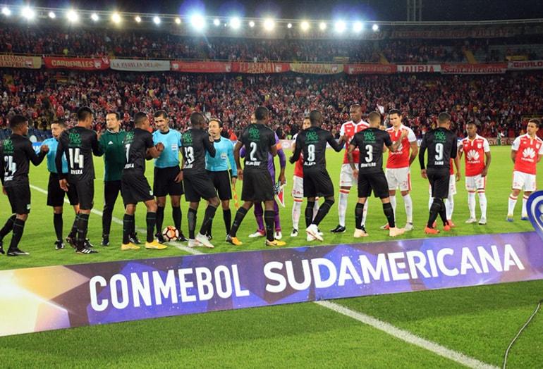 Santa Fe 1-1 Cali Copa Sudamericana 2018