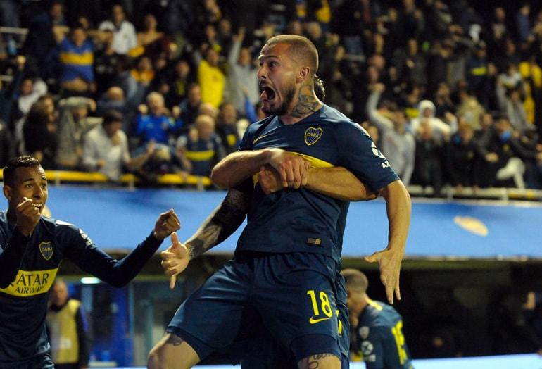 Sebastián Villa Boca Juniors 2-0 Palmeiras Copa Libertadores 2018