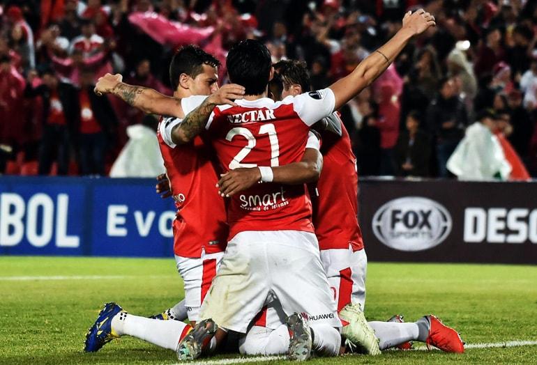 Wilson Morelo Santa Fe 1-1 Cali Copa Sudamericana 2018