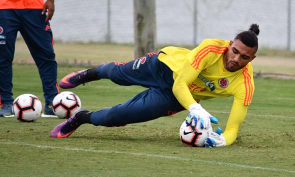 Álvaro Montero Selección Colombia