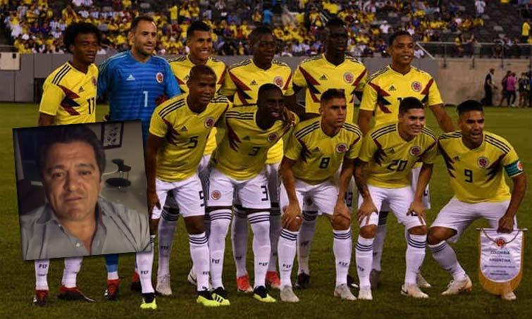 Carlos Hermosillo Selección Colombia