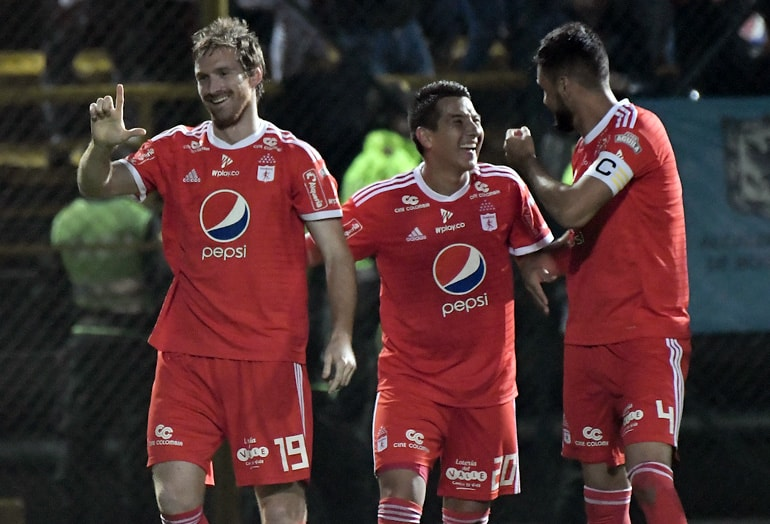 América de Cali tabla del descenso 2019