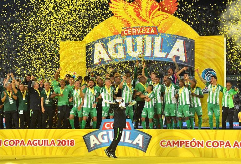 Atlético Nacional Campeón Copa Águila 2018