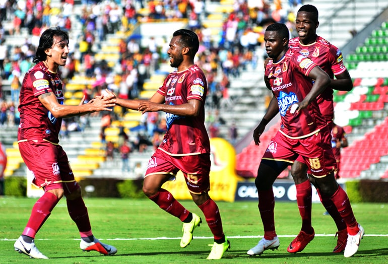 Luis 'Cariaco' González Deportes Tolima – Patriotas Boyacá Liga Águila 2018-II