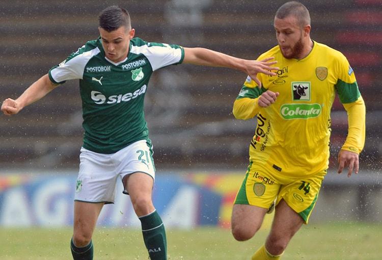 Felipe Jaramillo Itagüí-Leones FC Liga Águila 2018-II