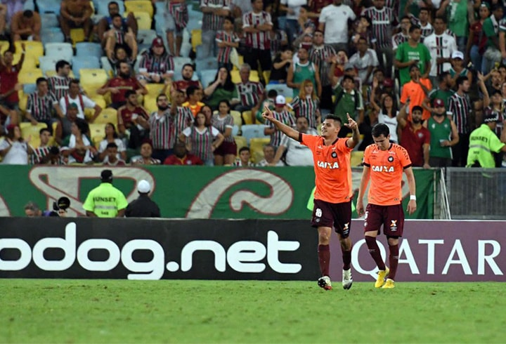 Fluminense FC 0-2 Atlético Paranaense Copa Sudamericana 2018 1